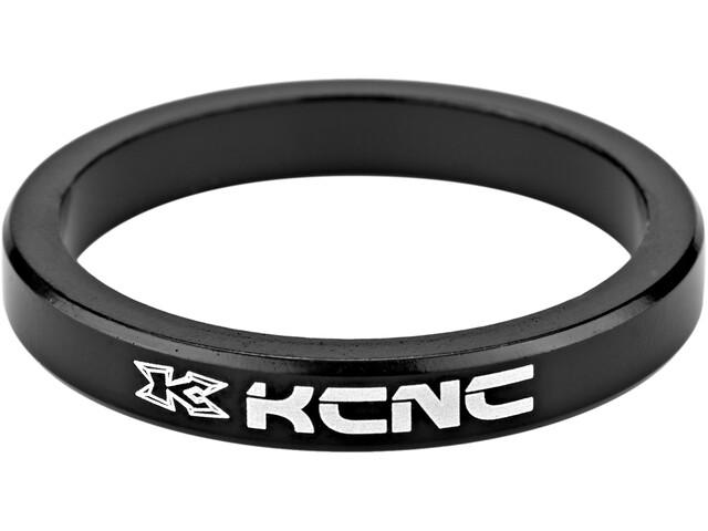 "KCNC Headset Spacer 1 1/8"" 5mm black"